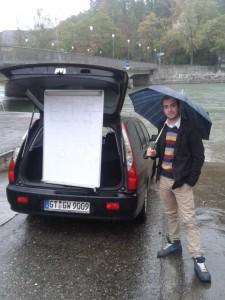 Deutsche Handarbeit - Chefentwickler Thorsten Krüger in Bern (Schweiz)